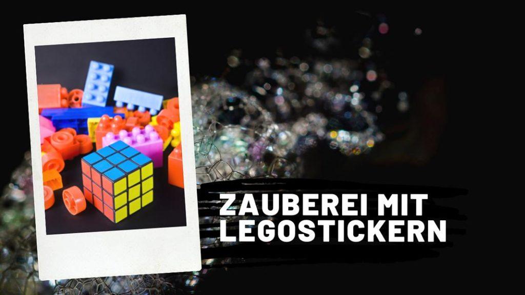 Blogbeitrag Zauberei mit Legostickern