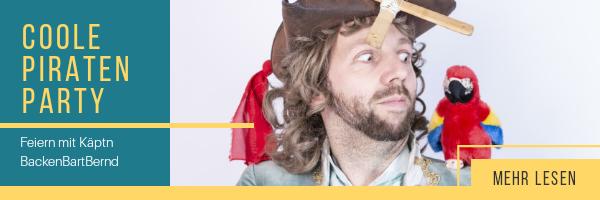 Link zu Pirat für einen Kindergeburtstag buchen